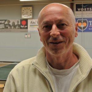 Hans Lingen | nieuwe trainer tafeltennisvereniging DHC